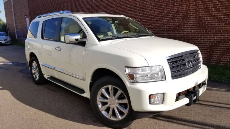 2010 Infiniti QX56 for sale at Minnesota Auto Sales in Golden Valley MN