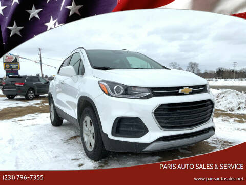 2017 Chevrolet Trax for sale at Paris Auto Sales & Service in Big Rapids MI