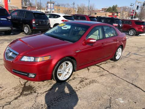 2008 Acura TL for sale at Bibian Brothers Auto Sales & Service in Joliet IL