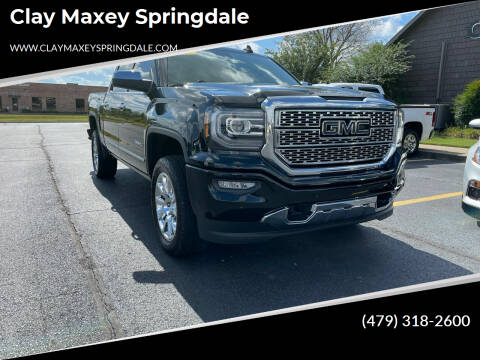 2017 GMC Sierra 1500 for sale at Clay Maxey Springdale in Springdale AR