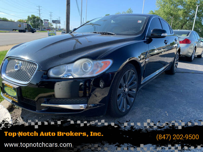 2009 Jaguar XF for sale at Top Notch Auto Brokers, Inc. in Palatine IL