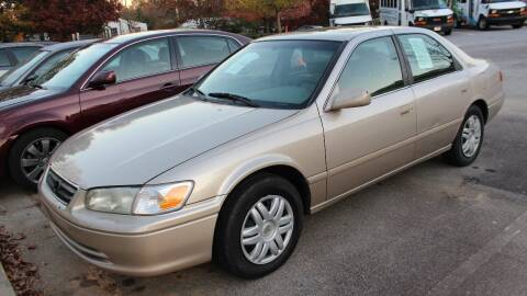 2001 Toyota Camry for sale at NORCROSS MOTORSPORTS in Norcross GA
