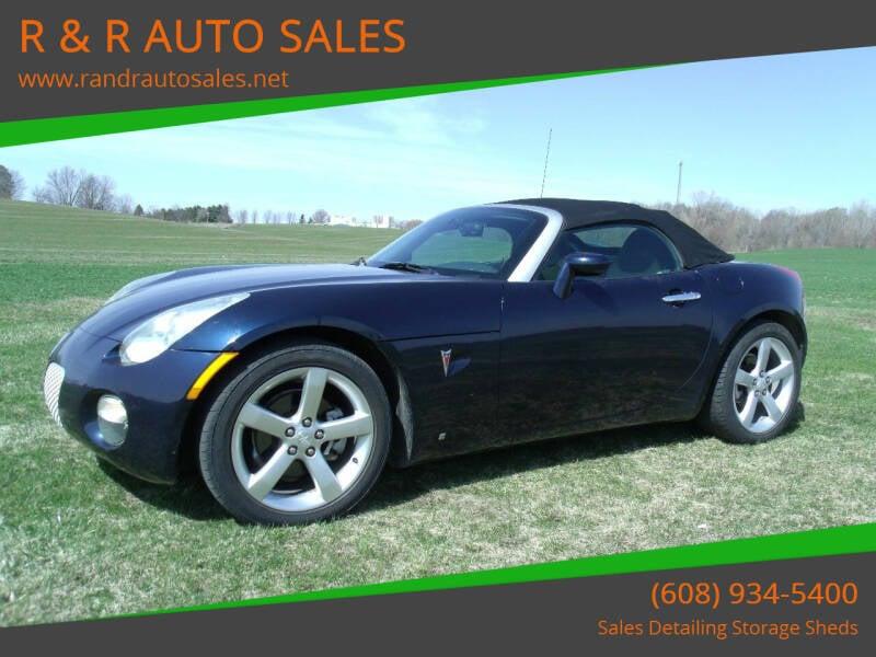 2006 Pontiac Solstice for sale at R & R AUTO SALES in Juda WI