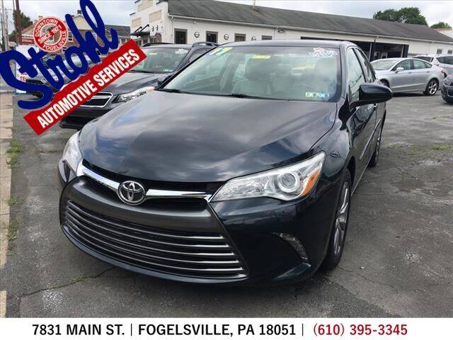 2017 Toyota Camry for sale at Strohl Automotive Services in Fogelsville PA