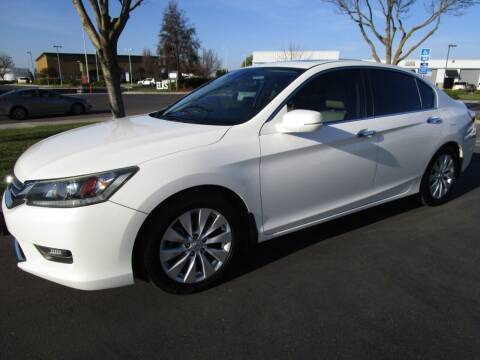 2014 Honda Accord for sale at KM MOTOR CARS in Modesto CA