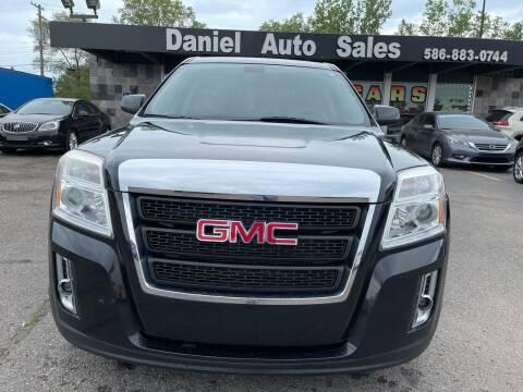 2011 GMC Terrain for sale at Daniel Auto Sales inc in Clinton Township MI