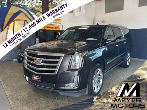 2016 Cadillac Escalade ESV for sale at Meyer Motors in Plymouth WI