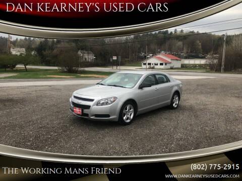 2012 Chevrolet Malibu for sale at DAN KEARNEY'S USED CARS in Center Rutland VT