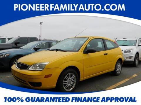 2007 Ford Focus for sale at Pioneer Family auto in Marietta OH