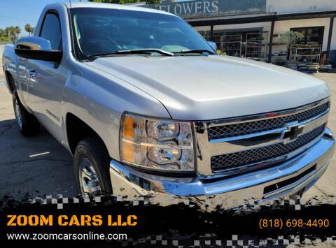 2012 Chevrolet Silverado 1500 for sale at ZOOM CARS LLC in Sylmar CA