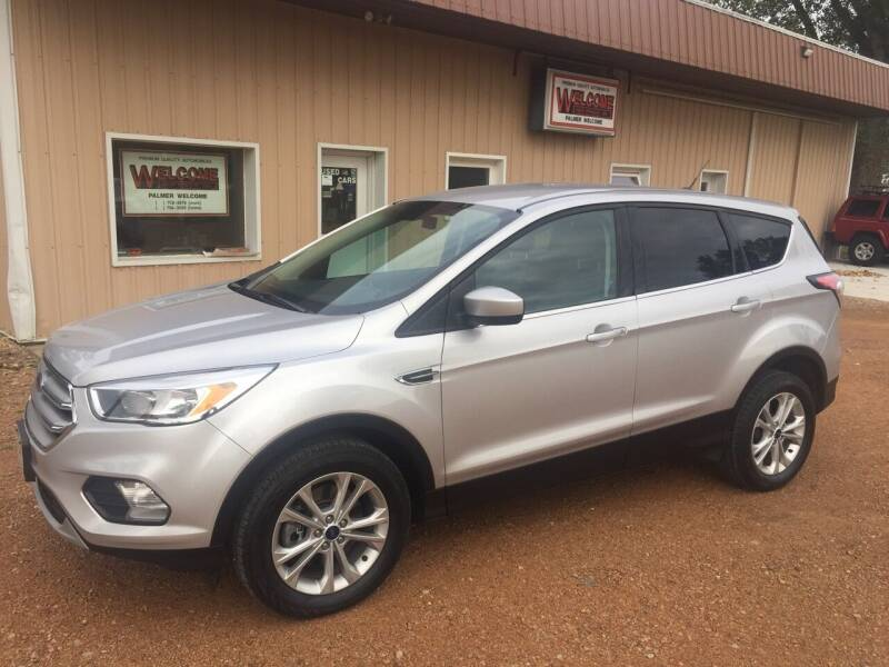 2017 Ford Escape for sale at Palmer Welcome Auto in New Prague MN