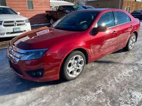 2010 Ford Fusion for sale at Sunrise Auto Sales in Stacy MN