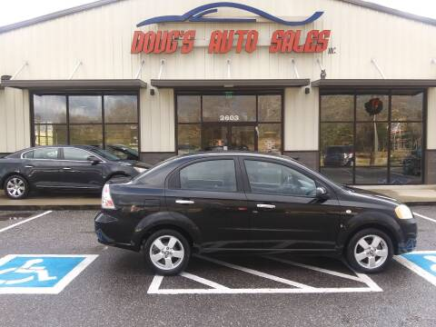 2008 Chevrolet Aveo for sale at DOUG'S AUTO SALES INC in Pleasant View TN