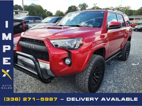 2018 Toyota 4Runner for sale at Impex Auto Sales in Greensboro NC