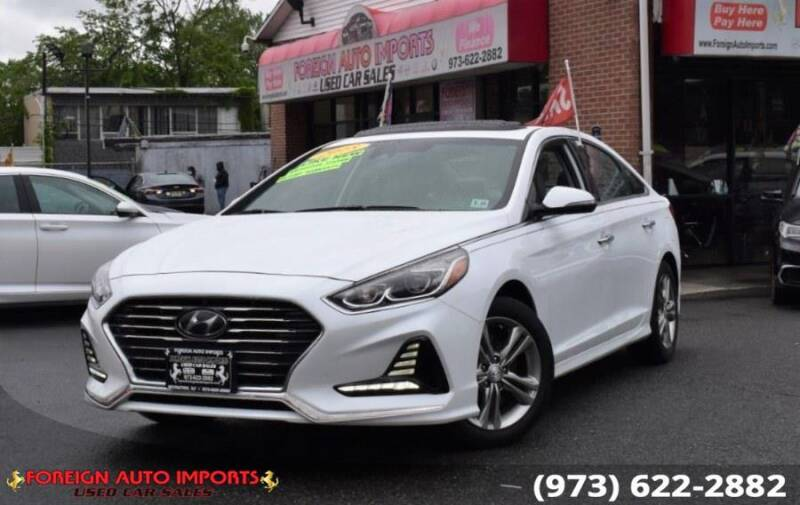 2018 Hyundai Sonata for sale at www.onlycarsnj.net in Irvington NJ