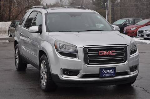 2015 GMC Acadia for sale at Amati Auto Group in Hooksett NH