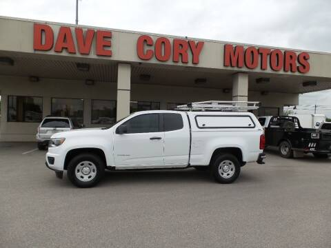 2018 Chevrolet Colorado for sale at DAVE CORY MOTORS in Houston TX