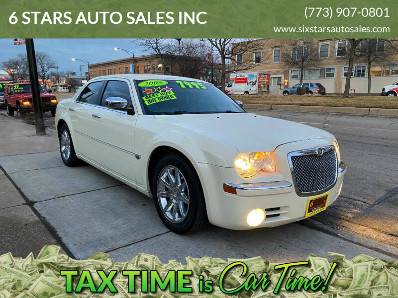 2005 Chrysler 300 for sale at 6 STARS AUTO SALES INC in Chicago IL