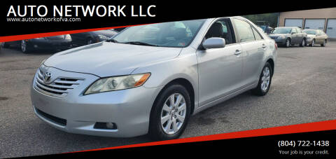 2007 Toyota Camry for sale at AUTO NETWORK LLC in Petersburg VA