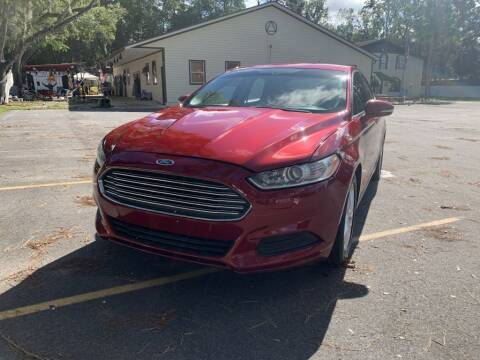 2016 Ford Fusion for sale at REDLINE MOTORGROUP INC in Jacksonville FL