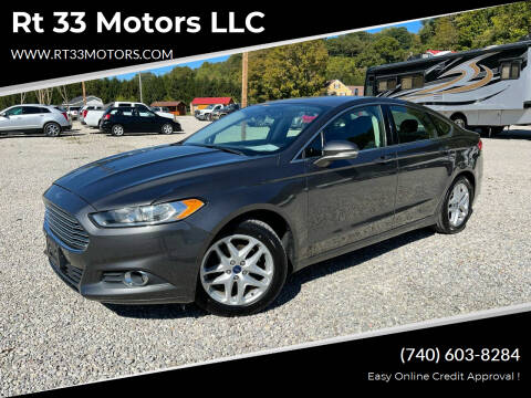 2016 Ford Fusion for sale at Rt 33 Motors LLC in Rockbridge OH