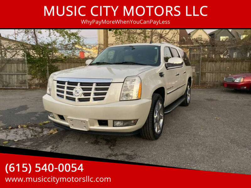 2008 Cadillac Escalade ESV for sale at MUSIC CITY MOTORS LLC in Nashville TN