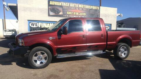 2006 Ford F-350 Super Duty for sale at Advantage Auto Motorsports in Phoenix AZ