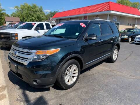 2014 Ford Explorer for sale at THE PATRIOT AUTO GROUP LLC in Elkhart IN
