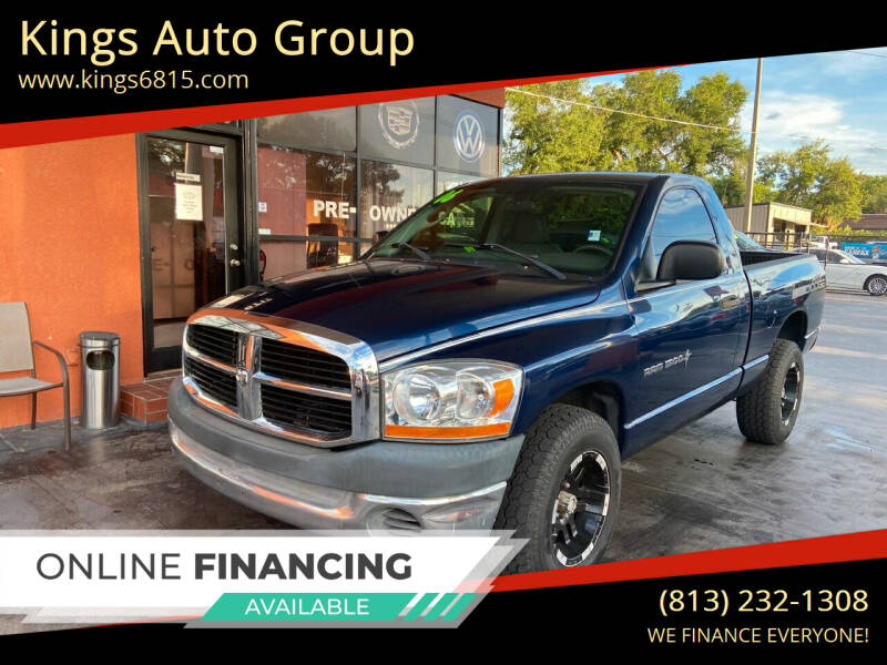 2006 Dodge Ram Pickup 1500 for sale at Kings Auto Group in Tampa FL