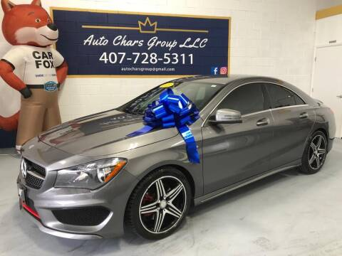 2015 Mercedes-Benz CLA for sale at Auto Chars Group LLC in Orlando FL