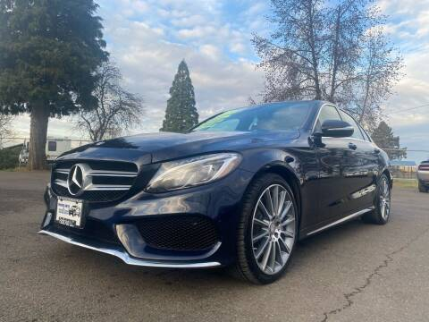 2015 Mercedes-Benz C-Class for sale at Pacific Auto LLC in Woodburn OR