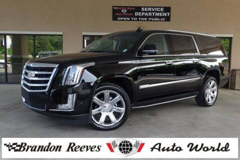 2018 Cadillac Escalade ESV for sale at Brandon Reeves Auto World in Monroe NC