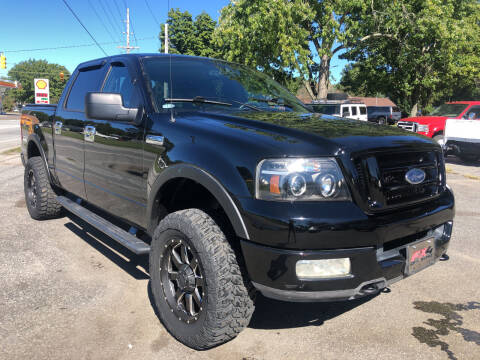 2004 Ford F-150 for sale at Creekside Automotive in Lexington NC