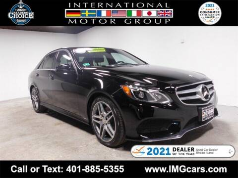 2016 Mercedes-Benz E-Class for sale at International Motor Group in Warwick RI