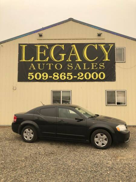 2008 Dodge Avenger for sale at Legacy Auto Sales in Toppenish WA