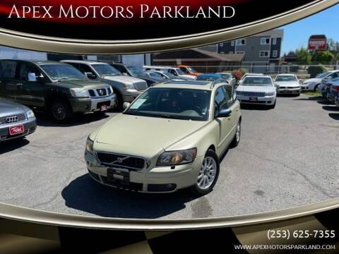 2005 Volvo V50 for sale at Apex Motors Parkland in Tacoma WA