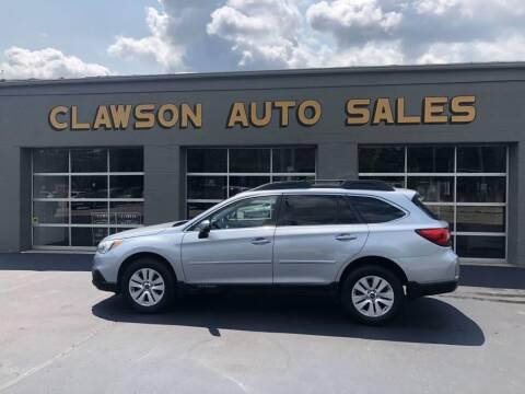 2015 Subaru Outback for sale at Clawson Auto Sales in Clawson MI
