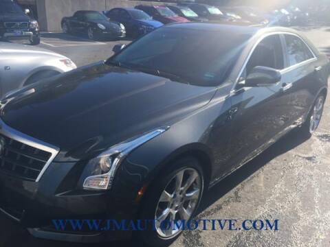 2013 Cadillac ATS for sale at J & M Automotive in Naugatuck CT