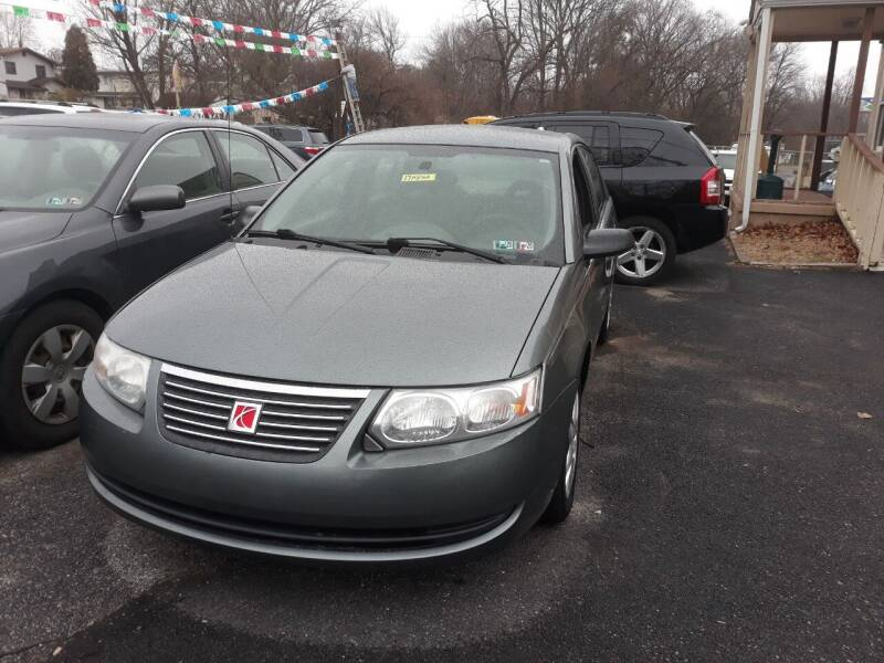 2007 Saturn Ion for sale at GALANTE AUTO SALES LLC in Aston PA