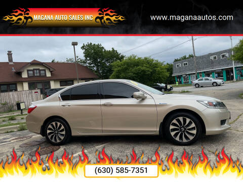 2014 Honda Accord Hybrid for sale at Magana Auto Sales Inc in Aurora IL