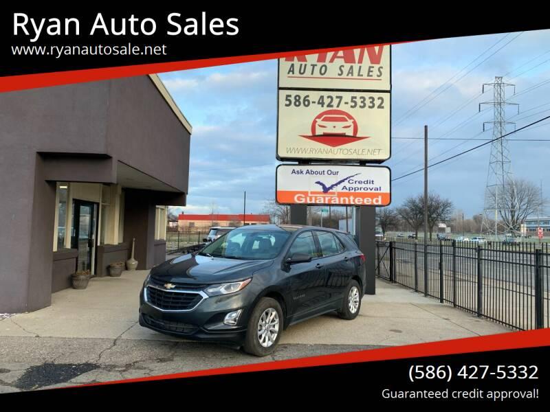 2019 Chevrolet Equinox for sale at Ryan Auto Sales in Warren MI