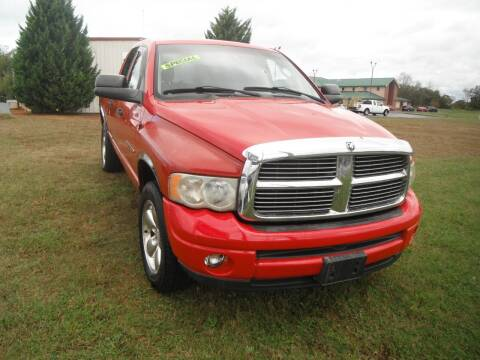 2002 Dodge Ram Pickup 1500 for sale at Morelock Motors INC in Maryville TN