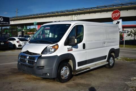 2016 RAM ProMaster Cargo for sale at STS Automotive - Miami, FL in Miami FL