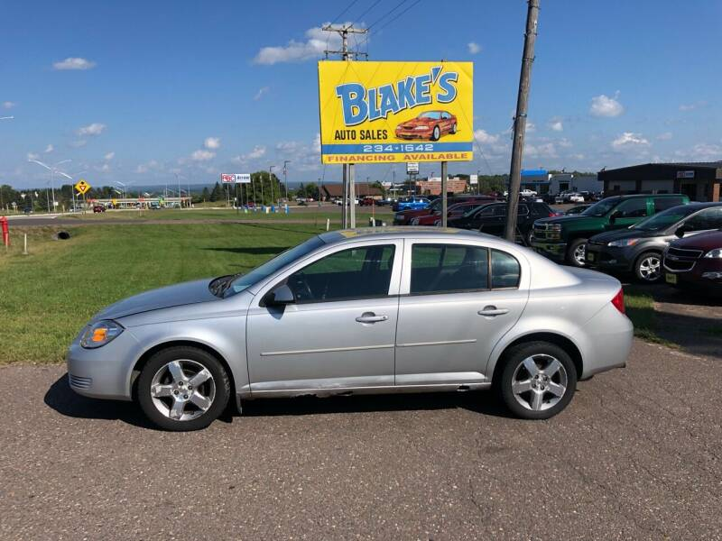 2010 Chevrolet Cobalt for sale at Blake's Auto Sales in Rice Lake WI