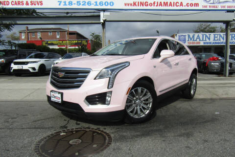 2019 Cadillac XT5 for sale at MIKEY AUTO INC in Hollis NY