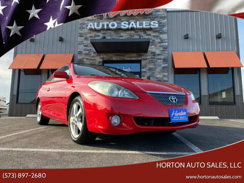 2005 Toyota Camry Solara for sale at HORTON AUTO SALES, LLC in Linn MO