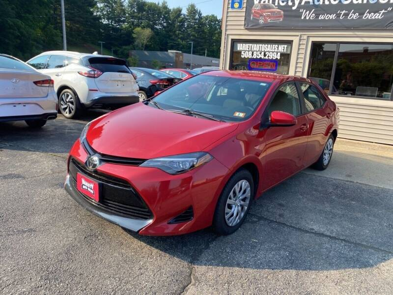 2019 Toyota Corolla for sale at Variety Auto Sales in Worcester MA