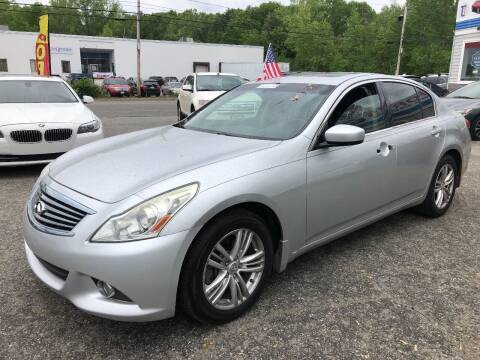 2010 Infiniti G37 Sedan for sale at Top Line Import of Methuen in Methuen MA