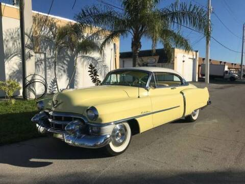 1953 Cadillac DeVille for sale at Classic Car Deals in Cadillac MI