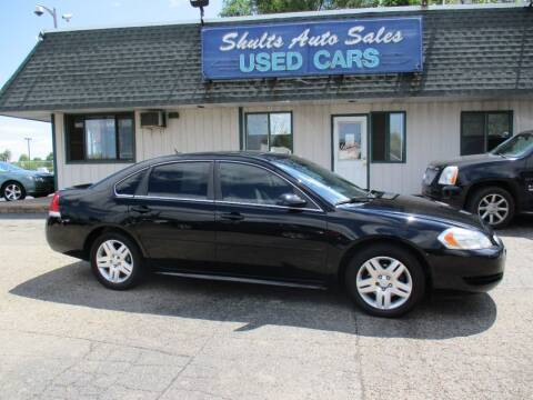 2014 Chevrolet Impala Limited for sale at SHULTS AUTO SALES INC. in Crystal Lake IL